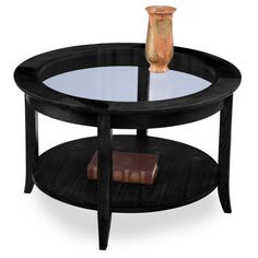Chocolate Bronze Round Coffee Table | Overstock.com Shopping - The Best Deals on Coffee, Sofa & End Tables