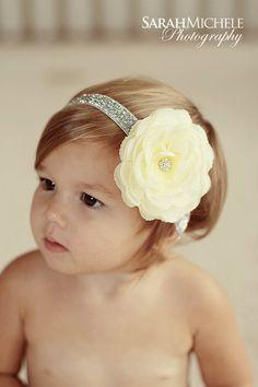newborn headband..baby girl headband..holiday headband..christmas headband
