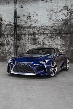2012 Lexus LF-LC Blue Concept.... well Hello.... Nice to meet you too ;)