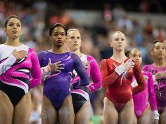 "Quiz: ""Who is your Gymnastics Style Twin?"" I Got Gabby Douglas Gymnastics Quizzes, Team Usa Gymnastics, Gymnastics World, Gymnastics Videos, Gymnastics Workout, Artistic Gymnastics, Olympic Gymnastics, Gymnastics Leotards, Cheerleading"