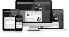 Wizytówkowa strona responsywna zaprojektowana i wykonana przez WiWi dla firmy windykatora #responsive #design #webdesign #inspiration #Responsive #Web #layout