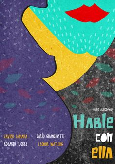Hable con ella (Talk to Her) - Minimal Movie posters by Marija Markovic Minimal Movie Posters, Cinema Posters, Film Posters, Saul Bass, Almodovar Films, Magic Memories, Pop Art, Spanish Posters, Poster Boys