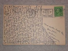 H. P. Lovecraft's handwriting