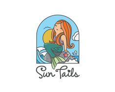 Logo Design: Mermaids and Sirens