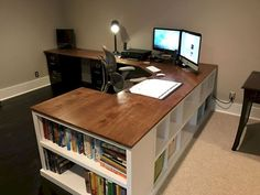 40 easy diy farmhouse desk decor ideas on a budget (27) #WoodworkingPlansWineRack