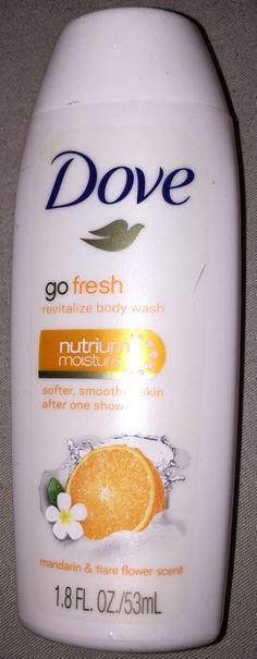 Dove body wash travel size - unopened