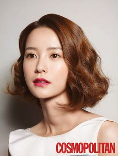 Korean short hair style for girls photo 2015 Hairstyles, Permed Hairstyles, Korean Hairstyles, Wavy Hair, New Hair, Medium Hair Styles, Short Hair Styles, Digital Perm, Korean Short Hair