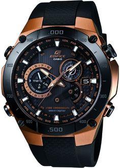 Casio Edifice Rose Gold 3D Dial Men's Watch - EQWM1100CG-1