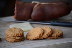 ChupChupChup: Galletas de sobrasada y queso de oveja