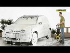 Máy rửa xe, máy phun xịt áp lực nước, rửa xe bọt tuyết Karcher. LH: 0979...