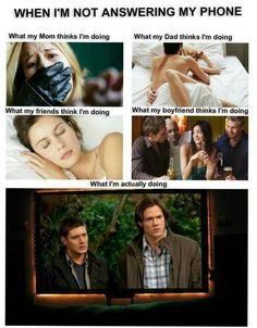 Watching Supernatural