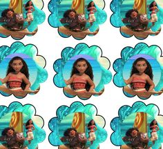 FREE Moana Birthday Party Printable files
