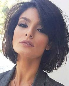 50 chic short bob hairstyles and haircuts for women in modern . - - 50 chic short bob hairstyles and haircuts for women in modern bob haircuts . Bob Haircuts For Women, Medium Bob Hairstyles, Short Bob Haircuts, Haircut Short, Chic Haircut, Bob Haircut With Bangs, Woman Hairstyles, Hairstyles For Over 40, Hair Bangs