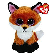 Ty Beanie Boos 6-Inch Slick Brown Fox Plush Stuffed Doll db0ae15a3029