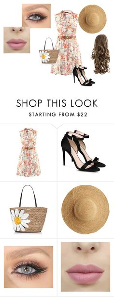 """""""Spring day"""" by air-bear-disigns ❤ liked on Polyvore featuring STELLA McCARTNEY, Kate Spade and Flora Bella"""