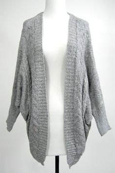 Lets Cuddle Oversized Cardigan