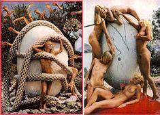 Surrealist art Meets Erotic Entertainment in Salvador Dali's 1973 Playboy Photoshoot (NSFW) Salvador Dali, Playboy, Erotic, Bunny, Messy Nessy, Photoshoot, Entertaining, Abandoned, Artist