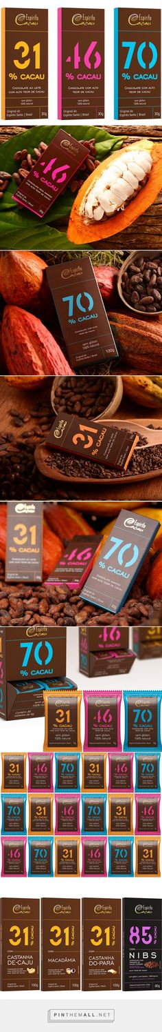 Espírito Cacau by Indesign. Source: Daily Package Design Inspiration. Pin curated by #SFields99 #packaging #design #inspiration #chocolate