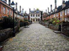 Vicars' Close, Wells, Somerset, England.