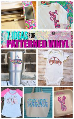silhouette cameo project ideas patterned vinyl floral vinyl lily inspired