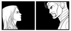 Detail from SUPERIOR IRON MAN #6 #PepperPotts #TonyStark #SuperiorIronMan Story: Tom Taylor Art: Laura Braga Colors: Guru Efx Marvel Comics