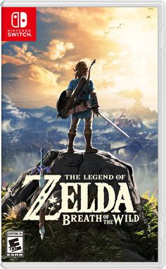 The Legend of Zelda: Breath of the Wild box art Nintendo Switch