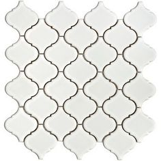 bathroom tile I LOVE! Will be purchasing!  Home Depot,$ 76.45 per case, covers 11 square feet. Arabesque Moroccan.