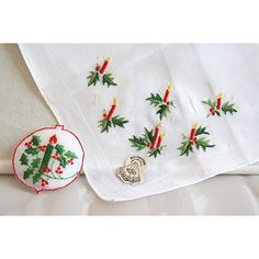 Embroidered Handkerchief ($25) ❤ liked on Polyvore featuring accessories, scarves, embroidered handkerchief, embroidered scarves, embroidery handkerchief, bandana scarves and embroidered shawl