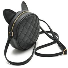 Cheap round purse, Buy Quality brand handbags directly from China handbag brand Suppliers: Good Quality Leather Mini Women Messenger Bag Circle Crossbody Bags Cat Ear Shoulder Bag Famous Brand Women Handbag Round Purses Crossbody Shoulder Bag, Leather Crossbody Bag, Leather Handbags, Crossbody Bags, Leather Bag, Shoulder Bags, Clutch Bag, Cat Purse, Cat Bag