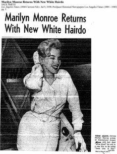 8/07/1958 Marilyn quitte New York - Divine Marilyn Monroe