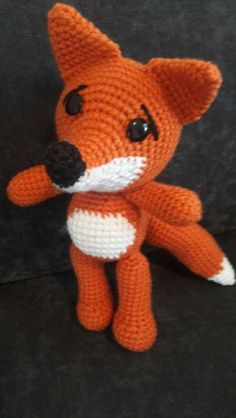 #Fox #amigurumi #crochet
