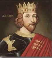 Name: King Richard I The Lion Heart  Father: Henry II  Mother: Eleanor of Aquitaine  Born: September 6, 1157 at Beaumont Place, Oxford  Ascended to the throne: July 6, 1189 aged 31 years  Crowned: 2/3 September, 1189 at Westminster Abbey  Married: Berengaria, Daughter of Sancho V of Navarre  Died: April 6, 1199 at Limousin, France, aged 41 years, 6 months, and 29 days  Buried at: Fontevraud, France
