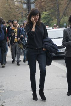 25 Times Emmanuelle Alt Killed it in a Pair of Jeans | StyleCaster