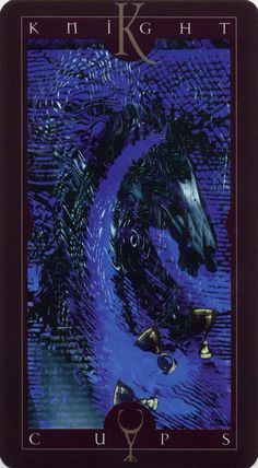 Vertigo Tarot: Knight of Cups