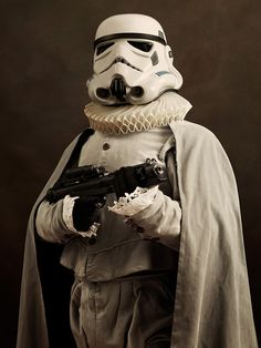 This French photographer reimagined our favorite superheroes as 16th century art. | Dearest Geeks of Earth #comicbooks #superheroes #SachaGoldberger #StarWars