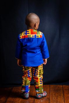 African Children Top and Pant Children Ankara Prints Body   Etsy