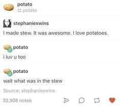 This oblivious potato blog: