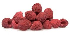 6 net carbs per Freeze-Dried Raspberries Freeze-Dried Raspberries. 6 net carbs per Freeze-Dried Strawberry Truffle, Raspberry Meringue, Raspberry Crumble, White Chocolate Raspberry, Chocolate Covered Strawberries, Raspberry Cake, Freeze Dried Raspberries, Freeze Dried Fruit, Feasting On Fruit