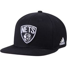 brand new 345d4 39bc9 Get ready for the season with this Brooklyn Nets Alternate Jersey snapback  adjustable hat from adidas! It features festive Brooklyn Nets graphics  that ll ...
