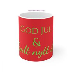 God Jul Christian Gifts, Home And Living, Dishwasher, Celebrations, Unique Gifts, Ceramics, God, Mugs, Tableware