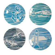 Whitby mini moderns plates