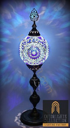 Turkish Handmade Mosaic Large And Tall Type Standing Lamp Floor Lamp Mosaic Art, Mosaic Glass, Luminaria Diy, Morrocan Decor, Moroccan, Turkish Lamps, Stained Glass Lamps, Lighting Manufacturers, Cool Lamps