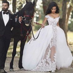 Find More Wedding Dresses Information about Romantic Lace Wedding Dress with Detachable Train Removable Skirt See Through Sexy Wedding Gown Casamento vestido de noiva,High Quality wedding dress in stock,China dress maroon Suppliers, Cheap wedding dress trim from Lowime Wedding Dresses Factory on Aliexpress.com