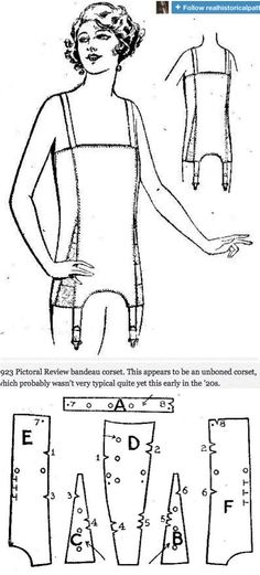 http://realhistoricalpatterns.tumblr.com/post/51225289992/1923-pictoral-review-bandeau-corset-this-appears