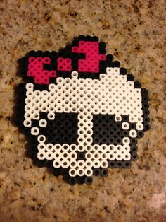 Monster high iron / Hama / Perler beads pattern