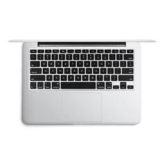 King Karl grau für DesignSkins® (glänzend) für Apple MacBook Air 13 mid 2013 von DeinDesign™