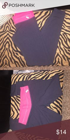 Abercrombie and Fitch leggings Low rise leggings Abercrombie & Fitch Pants Leggings