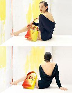 Marion Cotillard new Dior bags ad campaign | 2013