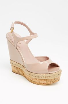 Gucci 'Hollie' Wedge Sandal available at #Nordstrom