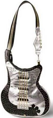 Guitar Design Handbags for Girls / I Know It Isn't Really A Guitar, However, It Is Unique!